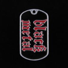 Badge Black Metal