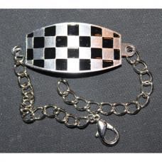 Bracelet on the arm Cell black-white