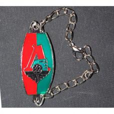 Bracelet on the arm FC Locomotiv