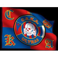Flag CSKA skull
