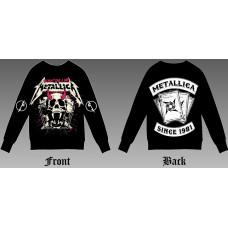 Sweatshirt Metallica - We don't give a shit