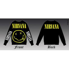 Sweatshirt Nirvana - Smile