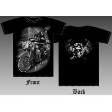 T_shirt Girl and Biker №5