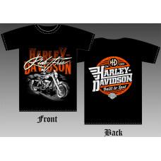 T_shirt Harley-Davidson - Bike
