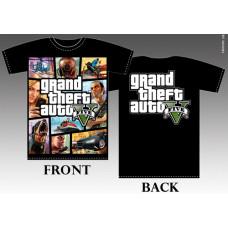 T_shirt Grand theft auto five №2