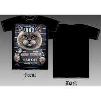 T_shirt Bad Cat