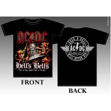 T_shirt AC/DC - Hell's bells