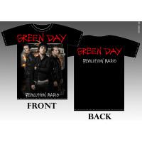 T_shirt Green Day - Revolution radio