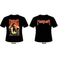 T_shirt Manowar - Louder than hell