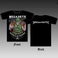 T_shirt Megadeth - Killing Is My Business