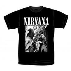 T_shirt Nirvana - Group