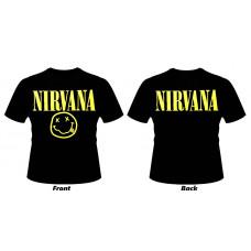 T_shirt Nirvana - Smile