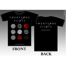 T_shirt Twenty One Pilots - Blurry face