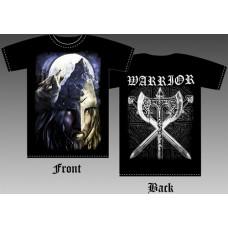 T_shirt Viking and wolf
