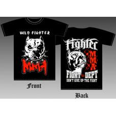 T_shirt Pit bull MMA