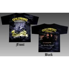 T_shirt GoldWing - Ride fist class not couch